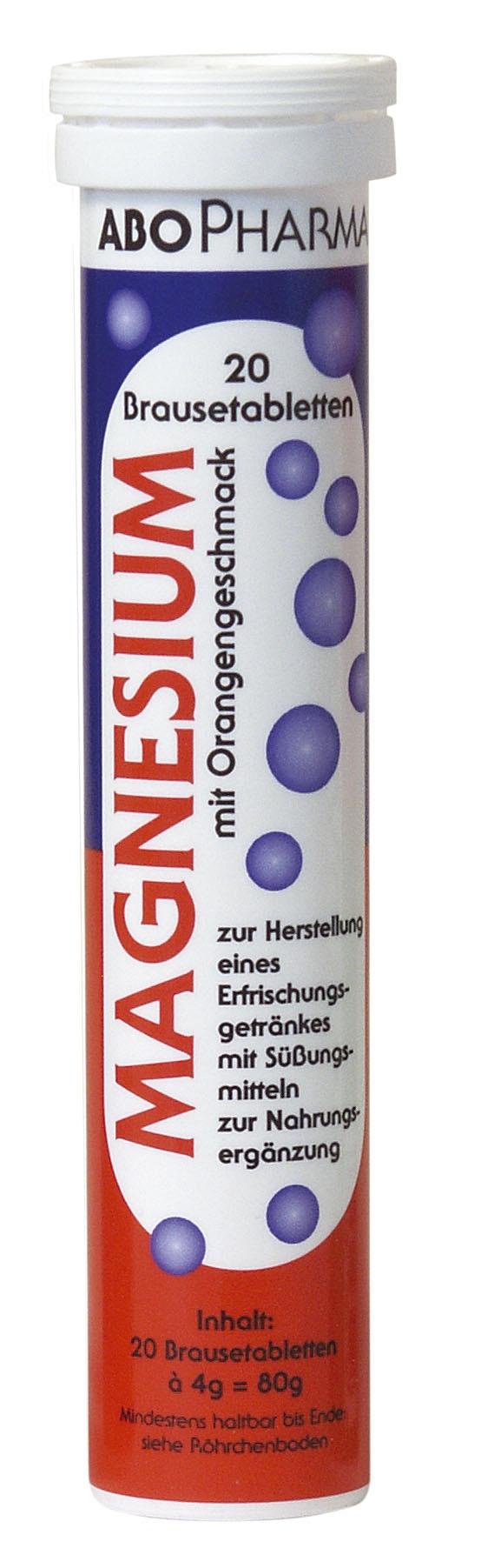 Magnesium Brausetabletten